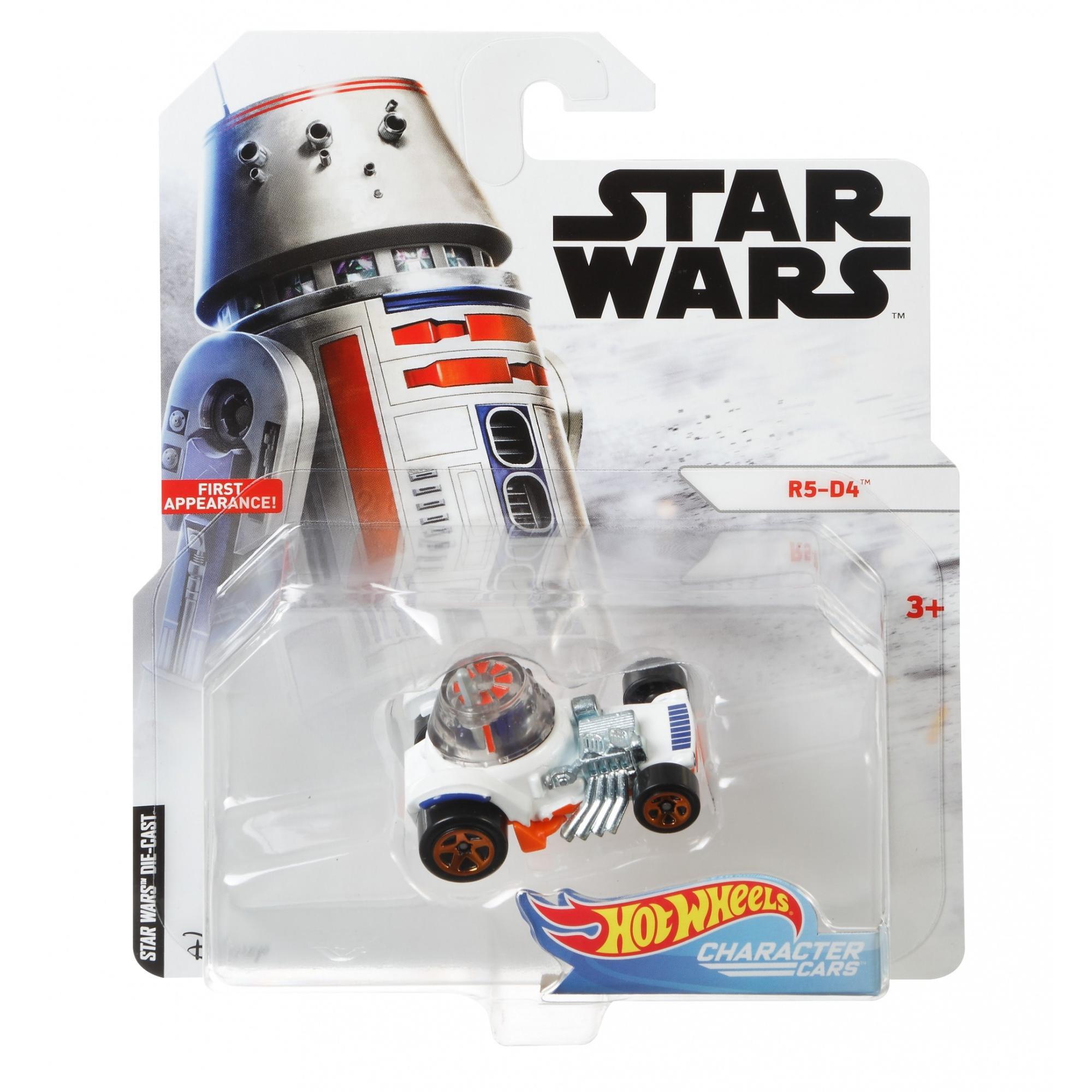 Star Wars Character Cars Hot Wheels R5-D4 2019