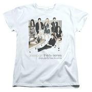 Gossip Girl Sitting Around Womens Short Sleeve Shirt