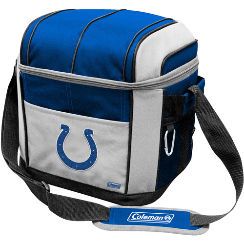 "Coleman 11"" x 9"" x 13"" 24-Can Cooler, Indianapolis Colts"
