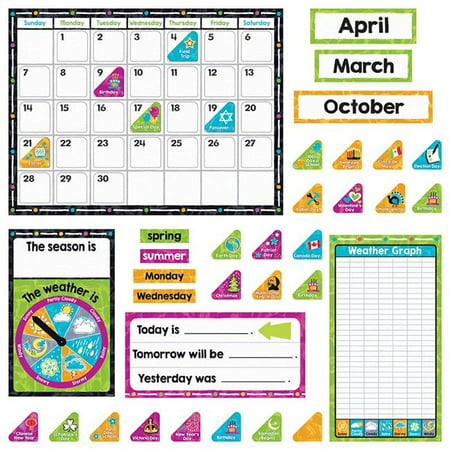 Trend Enterprises T-8430 Color Harmony Calendar Bulletin Board Set](Bulletin Board Calendar)