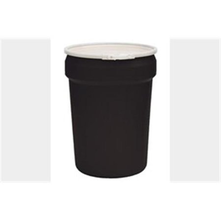 Eagle Manufacturing 1601BLK 30 Gallon Lab Pack Drum All Poly Black