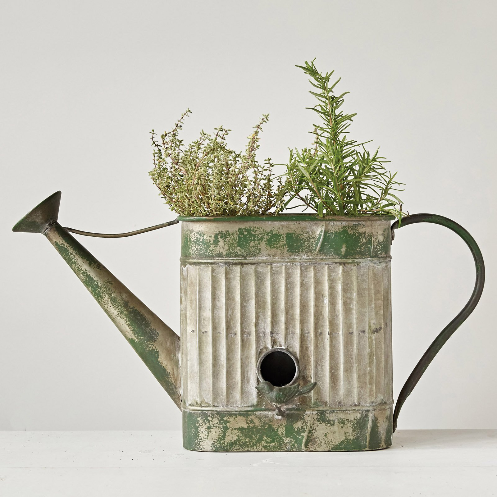3R Studios Decorative Watering Can and Birdhouse