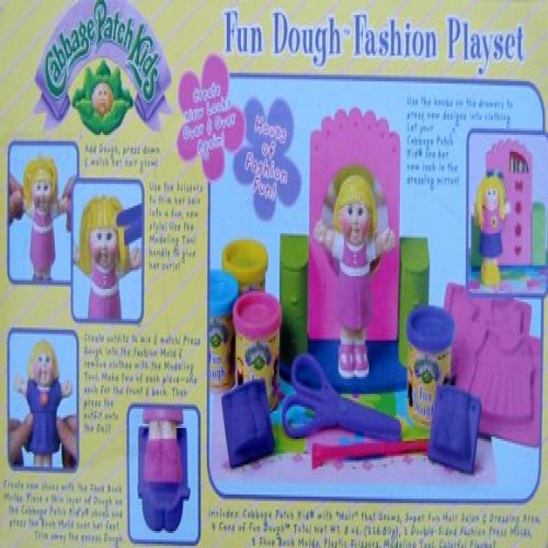 Cabbage Patch Kids Fun Dough Fashion Playset by