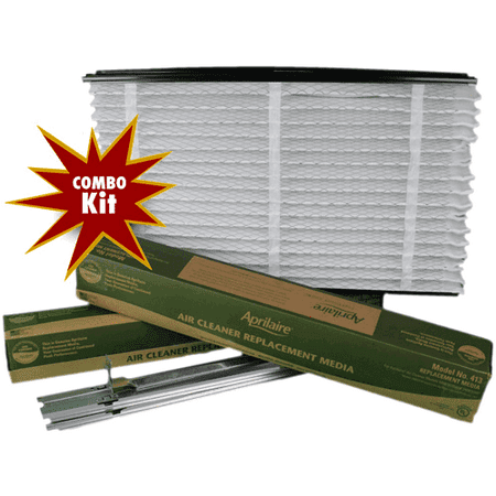 Aprilaire 1413 - Aprilaire 401 Air Filter Performance Upgrade Kit - Includes Additional 413 (Aprilaire 1213 Upgrade Kit)