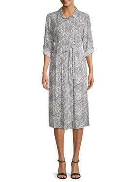 Time and Tru Women's Long Sleeve Dress