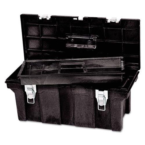 Rubbermaid 640-7802-00-BLA 26 in. Tool Box (Black)