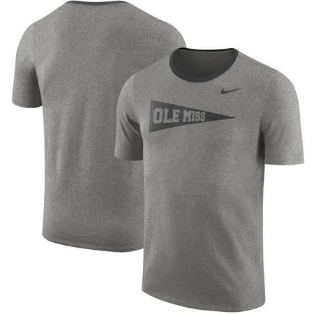Ole Miss Rebels Nike Vault Elevated Essentials T-Shirt - Charcoal