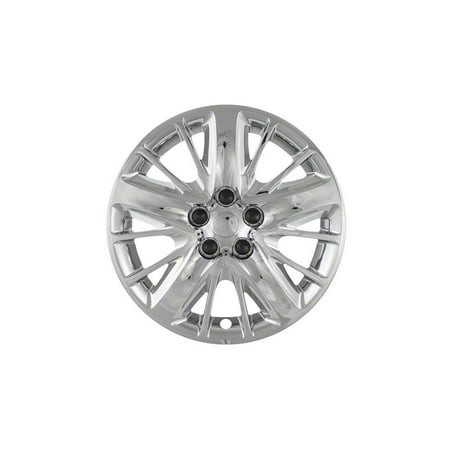 "Cci Fits  2014-2015 Chevrolet Impala 18"" Wheels - 5 Split Spoke Chrome Wheel Covers Iwc47218c"