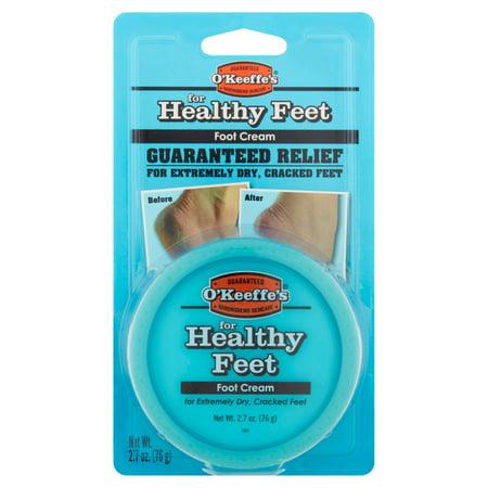 O'Keeffe's pour les pieds en bonne santé Crème pour les pieds, 2,7 oz