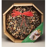 Pine Tree Farms Holiday Birdie Seed Wreath- 2.25 Lb (1351) Wild Bird Seed Food