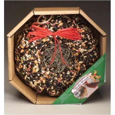 - Pine Tree Farms Holiday Birdie Seed Wreath- 2.25 Lb (1351) Wild Bird Seed Food