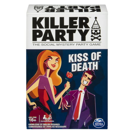 Murder Mystery Game (Killer Party - Kiss of Death, the Social Mystery Party Game for Ages 16 and Up )