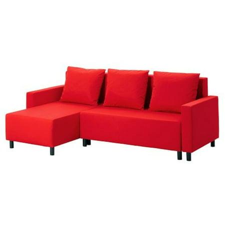 Ikea Sleeper sectional, 3-seat, Granån red (Best Ikea Sectional 2019)