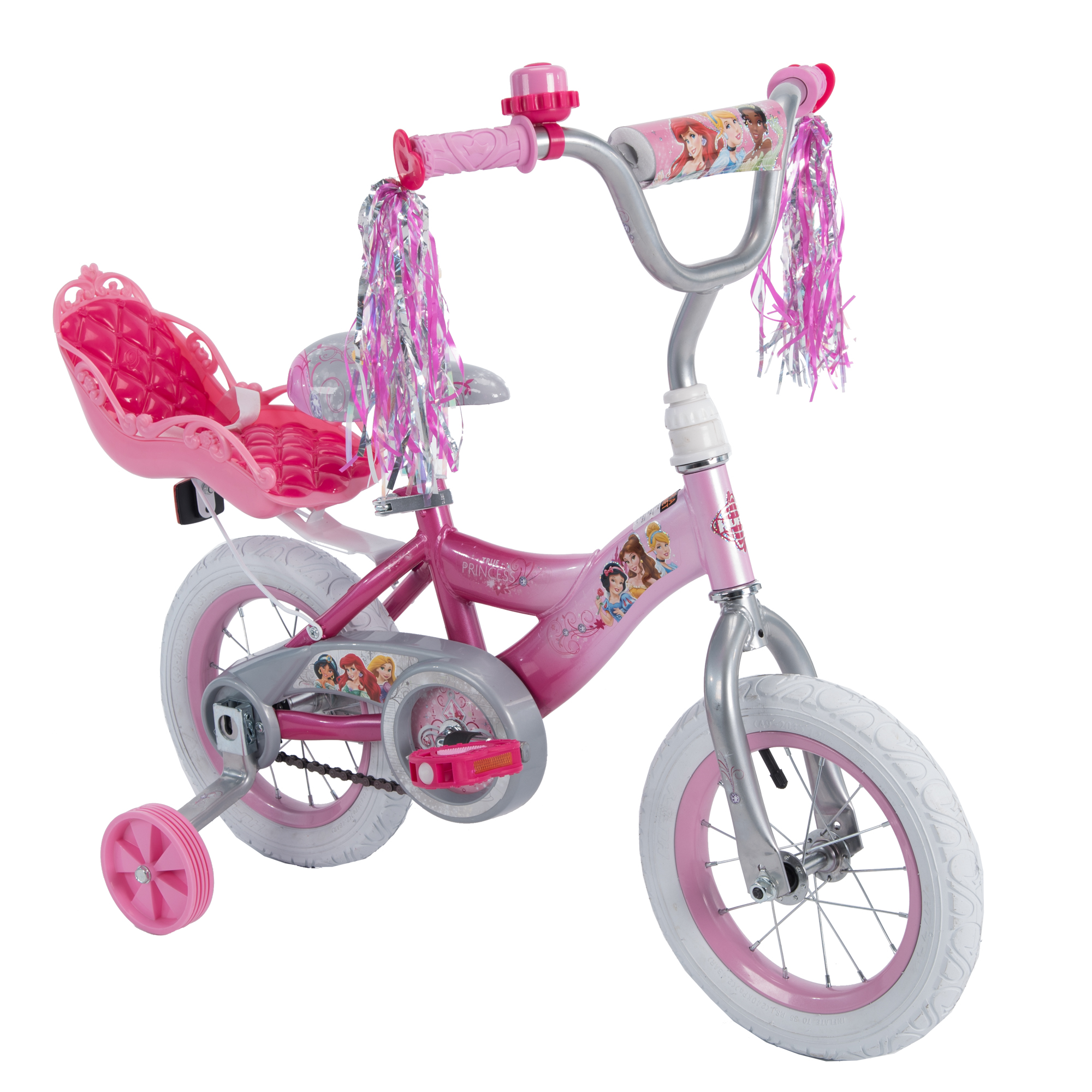 disney princess 12 girls ez build pink bike by huffy walmartcom