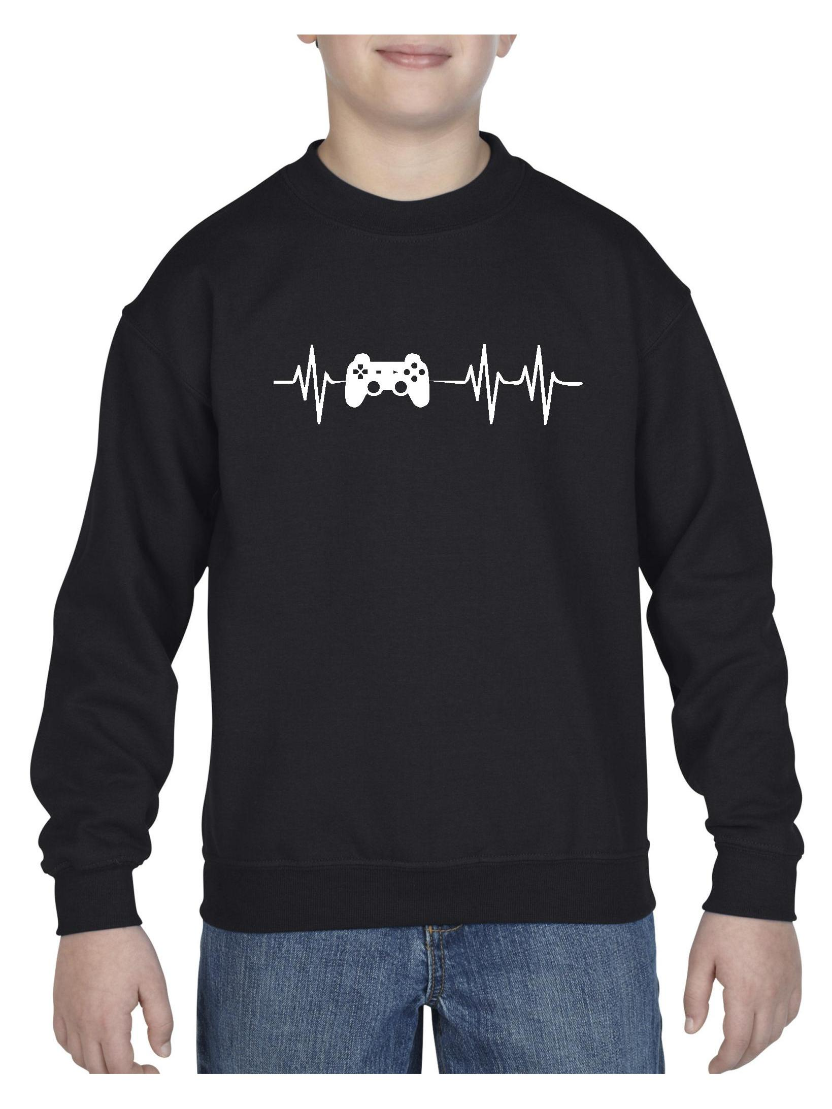 Gamer Unisex Youth Crewneck Sweatshirt