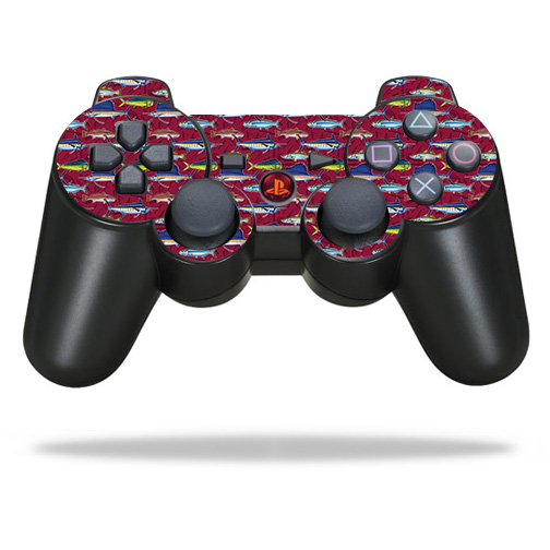 Skin Decal Wrap for Sony PlayStation 3 PS3 Controller Saltwater Collage