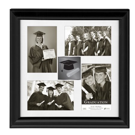 Timeless Frames Addison Solid Wood Graduation Collage Frame ...