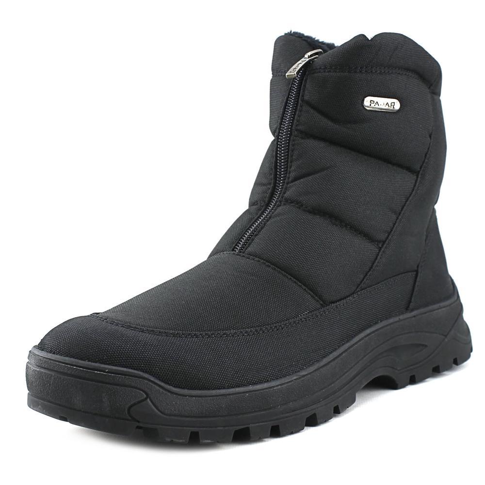 Pajar Ice Pack Men Round Toe Synthetic Black Snow Boot - Walmart.com