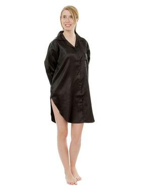 ba083fc2510 Product Image Up2date Fashion's Women's Satin Nightshirt