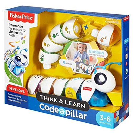 Fisher-Price DKT39 Think & Learn Code-a-Pillar Toy - image 1 of 2