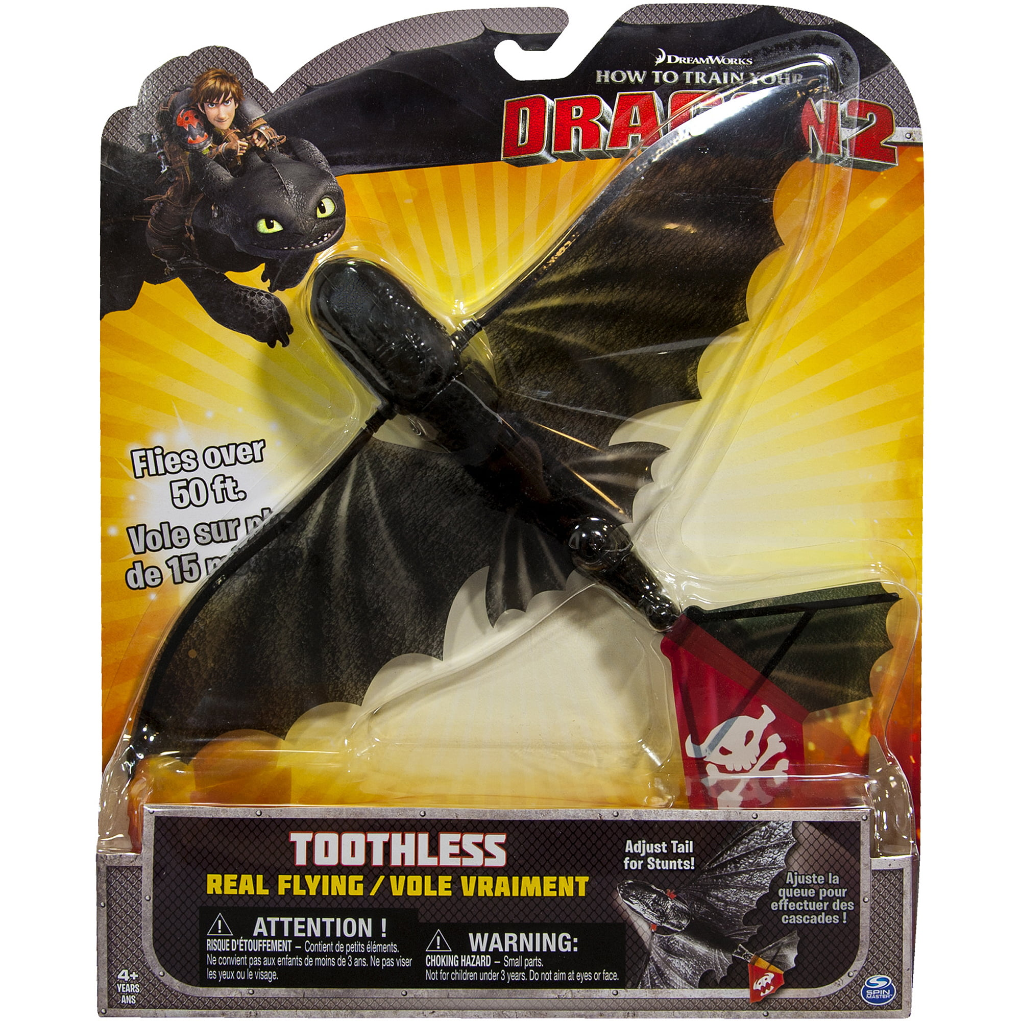 How to Train Your Dragon 2 Real Flying Toothless - Walmart.com