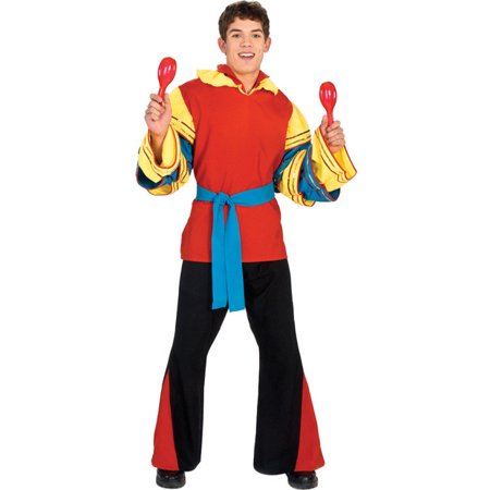 Adult Mens Carnival Dancer Costume