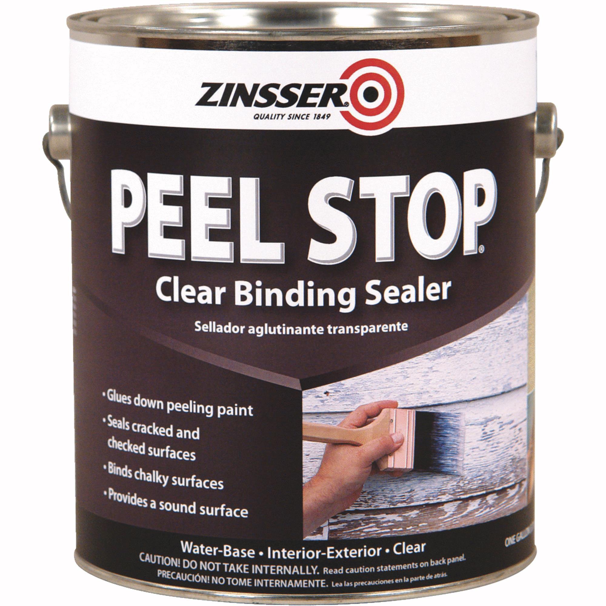Clear Binding Primer,Clear,1 gal. ZINSSER 60001
