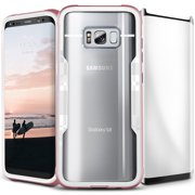 galaxy note 8 / s8 / s8 plus case, zizo shock 2.0 w/ full glass screen protector