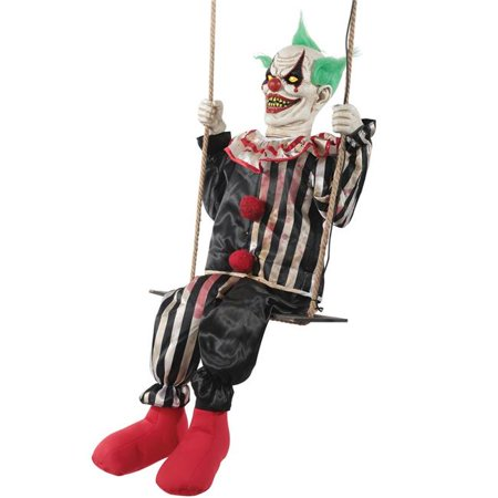 Swinging Chuckles Animated Prop Halloween Decoration (Animated Halloween Prop)