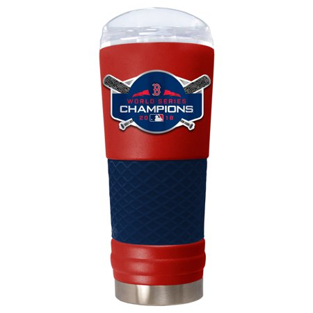 Boston Red Sox 2018 World Series Champions 24oz. Team Color Draft Tumbler - Red - No Size Boston Red Sox Stained Glass