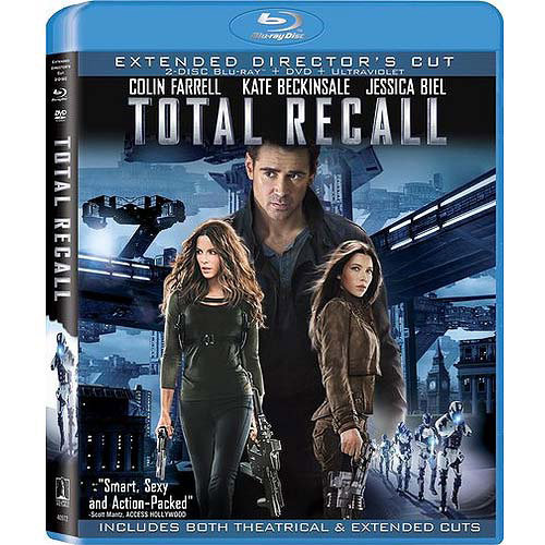 Total Recall (2012) (Extended Director's Cut) (Blu-ray + DVD) (With INSTAWATCH) (With INSTAWATCH) (Widescreen)