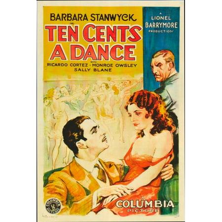 Ten Cents A Dance Canvas Art - (11 x 17)