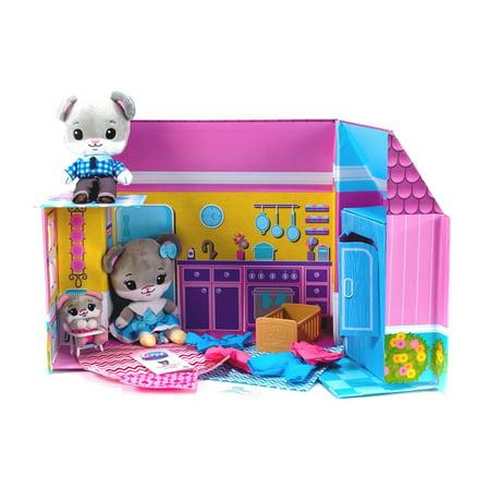 Tiny Tukkins Plush Play House Play