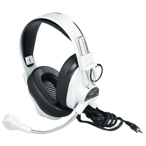 Victory Multimedia 3066AV Deluxe Multimedia Stereo Wired Accs Headset 3.5mm Plug Via Ergoguys