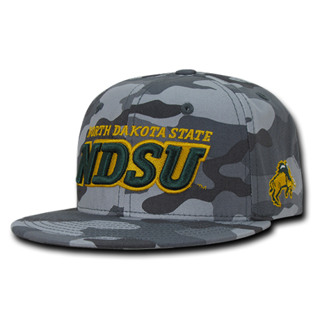 Ncaa Ndsu North Dakota State University Camo Camouflage Snapback Caps Hats