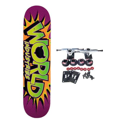 WORLD INDUSTRIES Complete Skateboard WHAMMO 7.5in