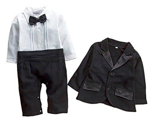Festive Threads Unisex Baby Sheriffs Vest T-Shirt Romper White, 6 Months