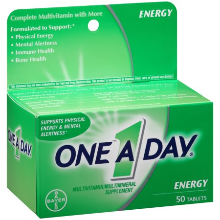 One A Day Energy Multivitamin Supplement Tablet  50 Count