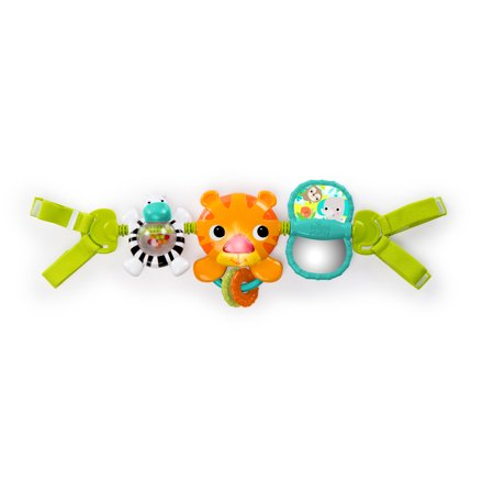Bright Starts Take Along Musical Carrier Activity Toy Bar, Ages Newborn + ()