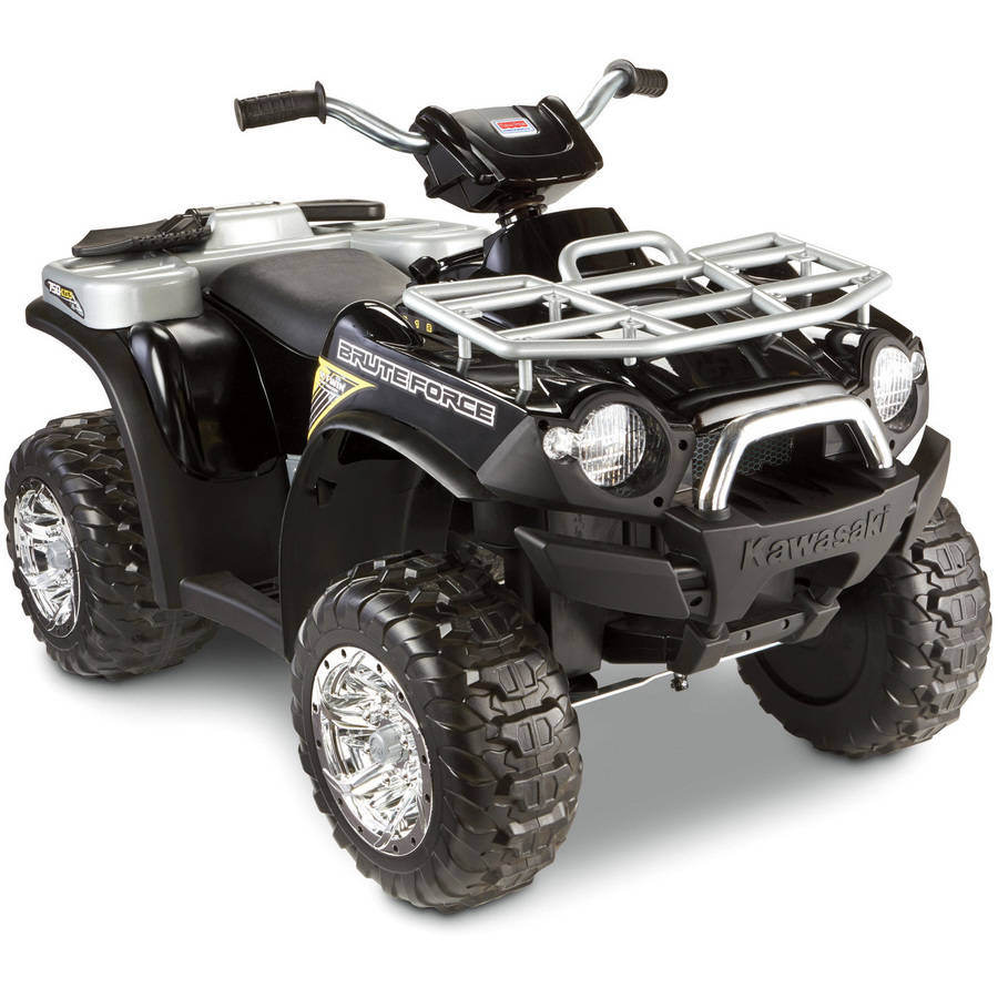 FP Power Wheels Kawasaki Brute Force 12V Battery-Powered Ride-On