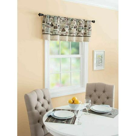 Better Homes and Gardens Fresh Brewed Kitchen Valance 256115792944