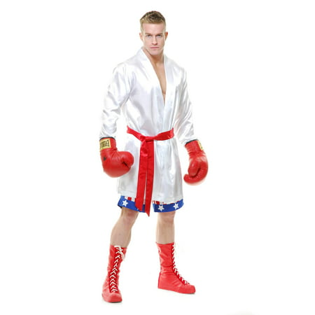 Female Boxer Costumes (Mens The Boxer Halloween)
