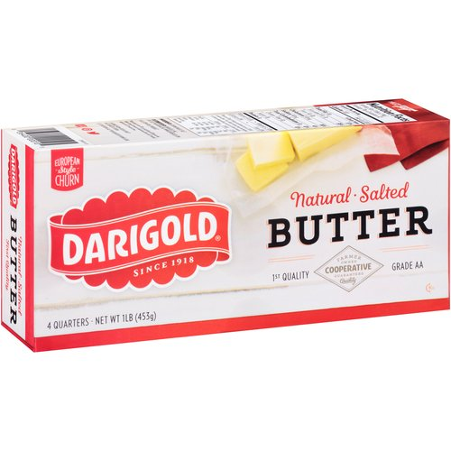 Darigold Natural Salted Butter, 1 lb