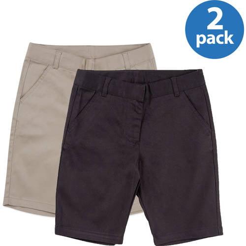 George Girls' School Uniforms, Bermuda Short 2 Pack