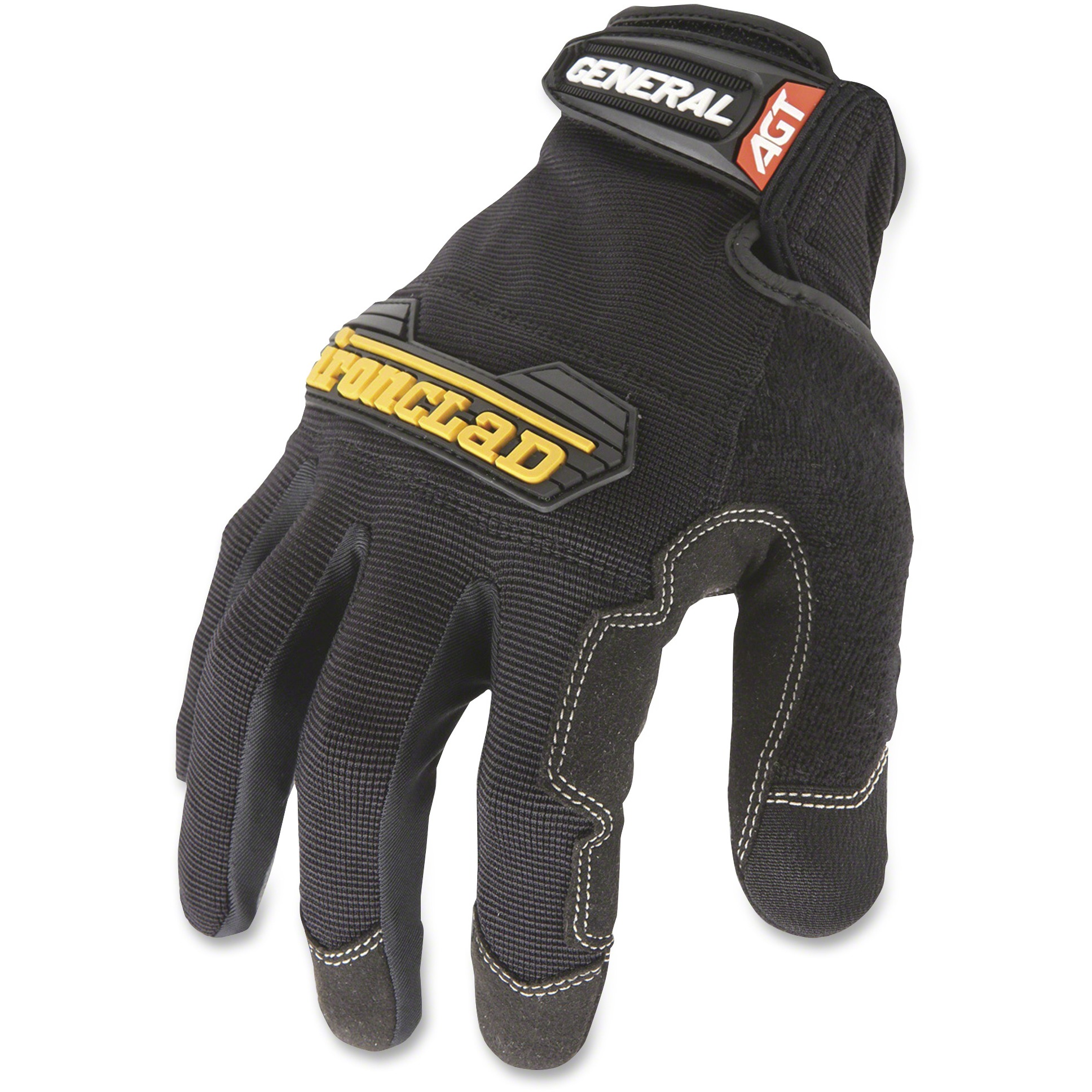 Ironclad General Utility Gloves, Black, 2 / Pair (Quantity)