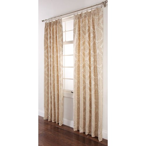 Darby Pinch Pleated Drape
