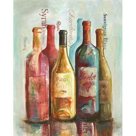 Havens Wine Cellars - Posterazzi Wine Cellar Motif I Canvas Art - Gregory Gorham (24 x 30)