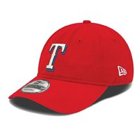 new era texas rangers mlb on field replica 9twenty dad cap