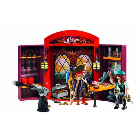 - PLAYMOBIL Pirate Hideout Play Box