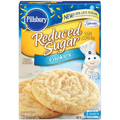 Pillsbury: Sugar Reduced Sugar Cookie Mix, 15.5 Oz ...